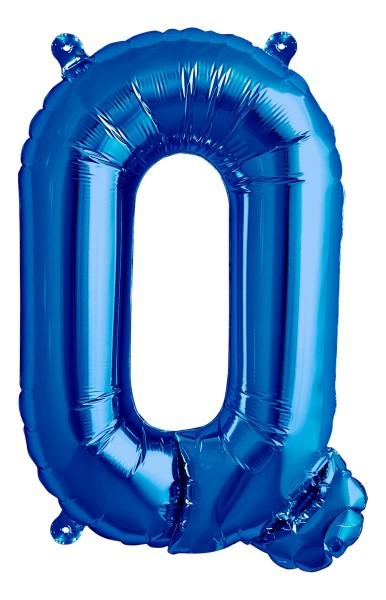 "Northstar Folienballon Buchstabe Q Blue 40cm/16"""