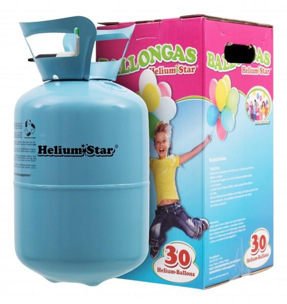 HeliumStar Ballongas 30er Einwegflasche