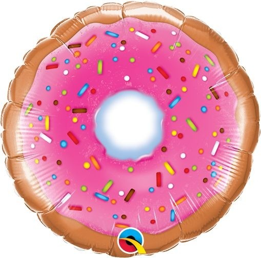 "Qualatex Folienballon Donut 23cm/9"""