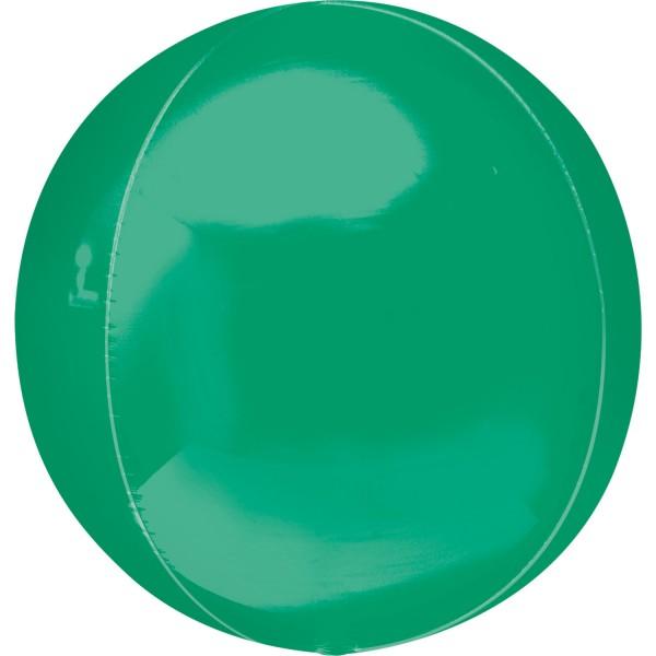 "Anagram Folienballon Orbz Green 40cm/16"""