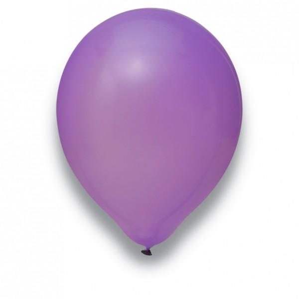 """Globos Luftballons Flieder Naturlatex 30cm/12"""" 100er Packung"""