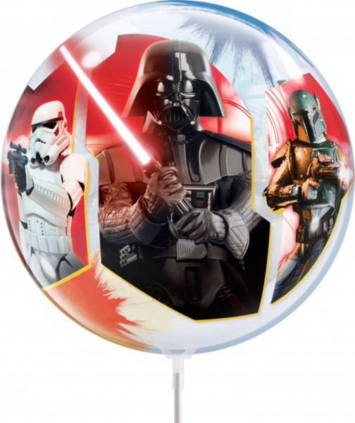 "Qualatex Air Bubbles Star Wars, Light VS Dark Sides 30cm/12"" luftgefüllt inkl. Stab"