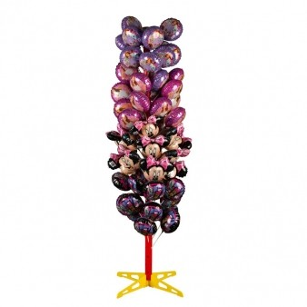 Ballon Tree Display for 64 air-Filled Mini Ballons 65x65x180cm