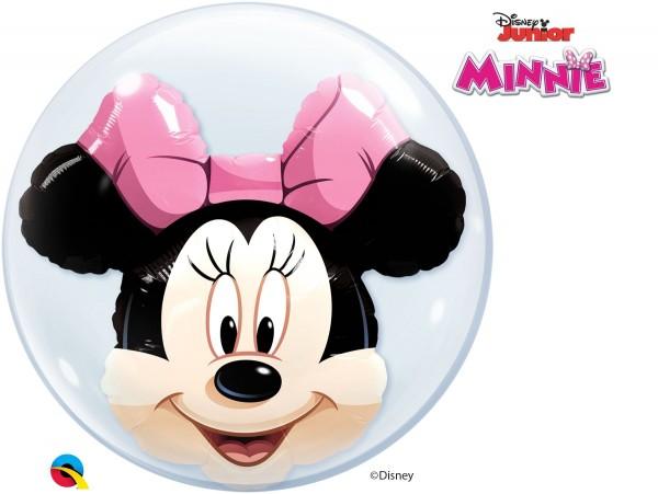 """Qualatex Bubbles Minnie Mouse 61cm/24"""""""