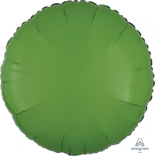 Anagram Folienballon Rund Kiwi Green 45cm/18""