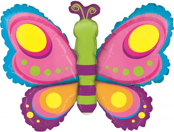 Betallic Folienballon Butterfly Mini 35cm/14""
