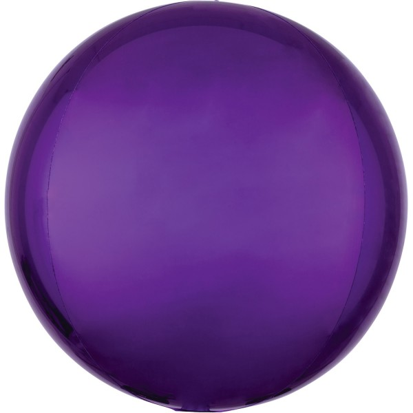 Anagram Folienballon Orbz Purple 40cm/16""