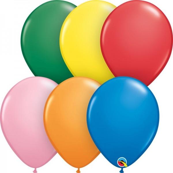 """Qualatex Latexballon Standard Assortment 28cm/11"""" 100 Stück"""