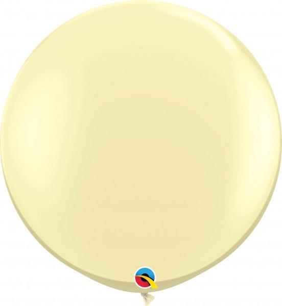 Qualatex Latexballon Fashion Ivory Silk 90cm/3' 2 Stück