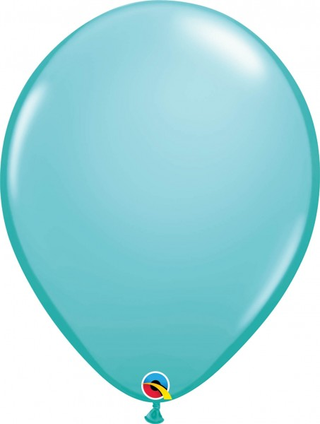 "Qualatex Latexballon Fashion Caribbean Blue 40cm/16"" 50 Stück"