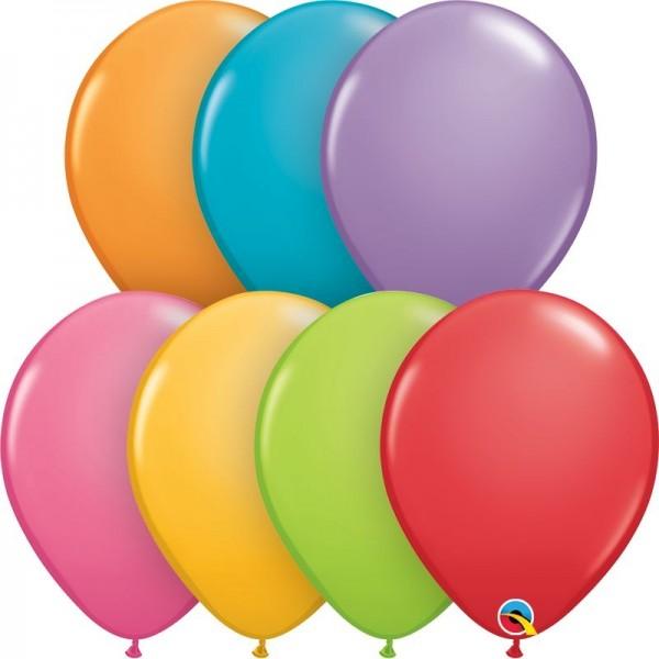 "Qualatex Latexballon Festive Assortment 28cm/11"" 100 Stück"