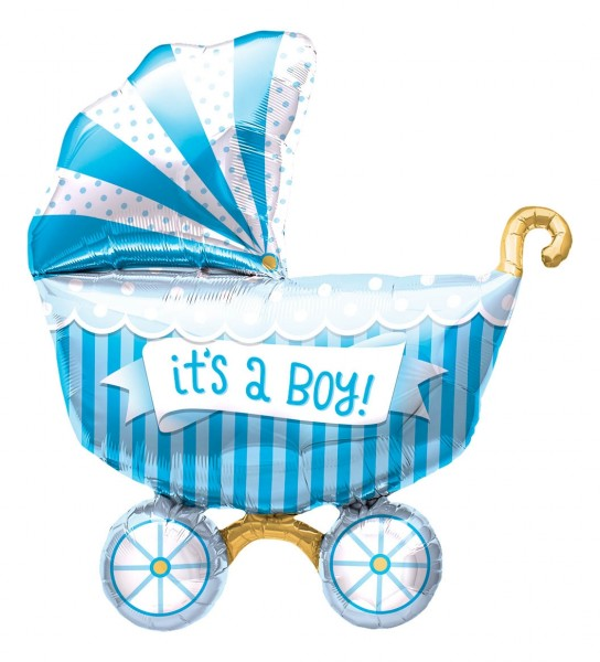 Northstar Folienballon It's A Boy Buggy 14""