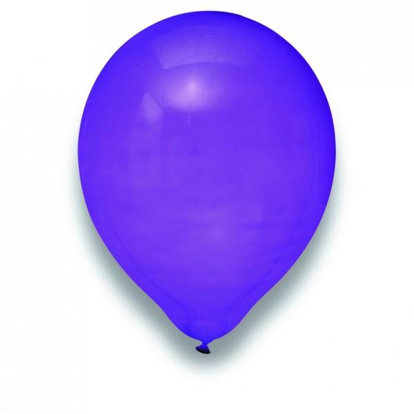 Globos Luftballons 100er Packung 30cm Durchmesser Lila Naturlatex