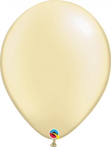 "Qualatex Latexballon Pastel Pearl Ivory 40cm/16"" 50 Stück"