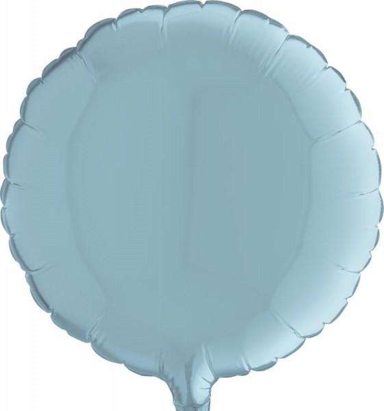 "Grabo Folienballon Round Pastel Blue 23cm/9"""
