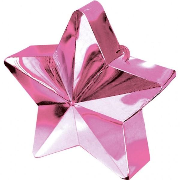 Ballongewicht Stern Pink 150g/5,3oz