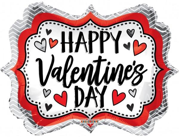 "Kaleidoscope Folienballon Happy Valentines Tag Marquee 18"" S"