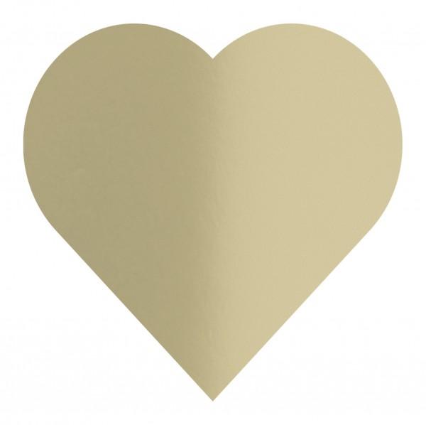 Goodtimes Folienkonfetti 3cm Herz 1kg Satin Gold