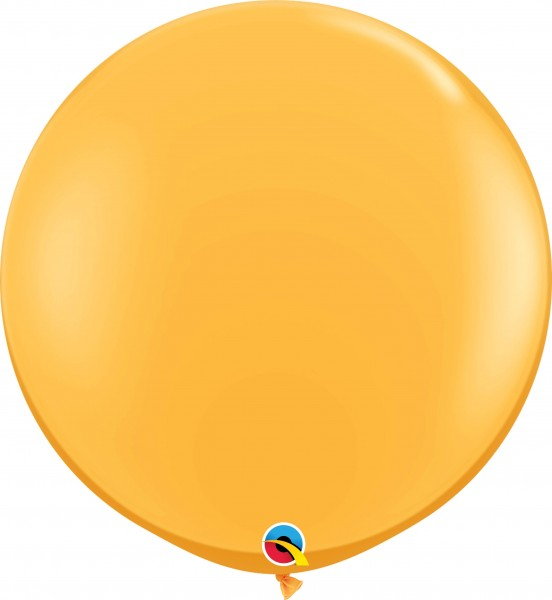 Qualatex Latexballon Fashion Goldenrod 90cm/3' 2 Stück