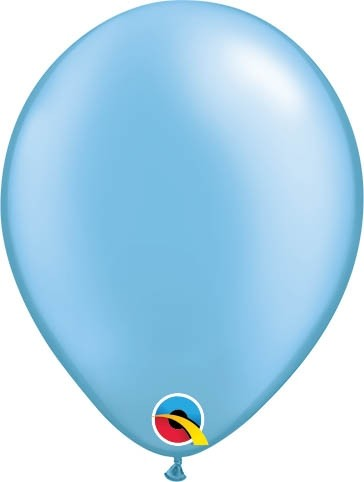 "Qualatex Latexballon Pastel Pearl Azure 13cm/5"" 100 Stück"