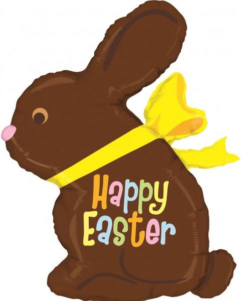 "Betallic Folienballon Chocolate Easter Bunny Mini 35cm/14"""
