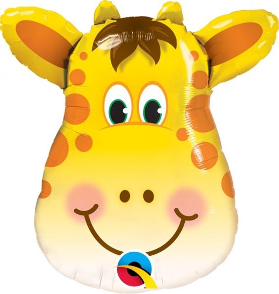 "Qualatex Folienballon Jolly Giraffe 36cm/14"""