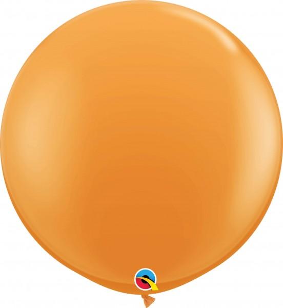 Qualatex Latexballon Standard Orange 90cm/3' 2 Stück
