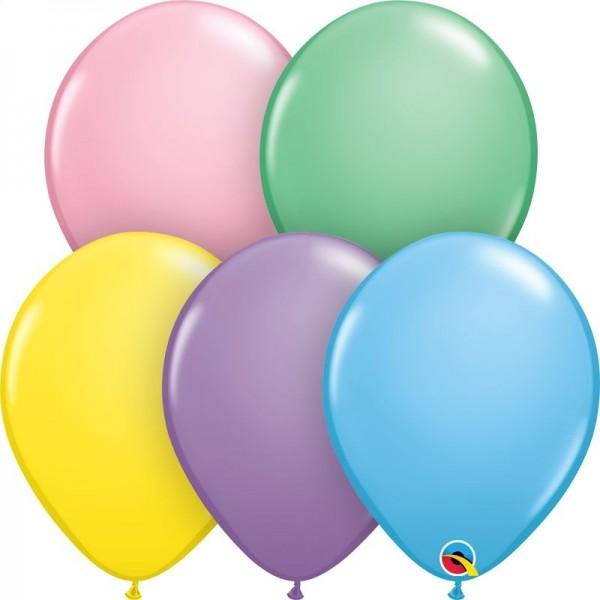 "Qualatex Latexballon Pastel Assortment 28cm/11"" 100 Stück"