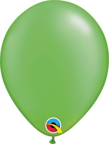 "Qualatex Latexballon Radiant Pearl Lime Green 13cm/5"" 100 Stück"
