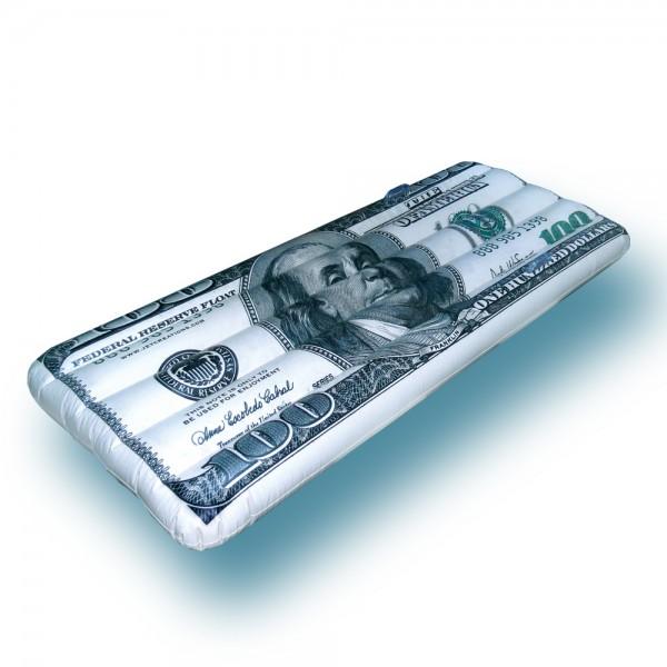 Jet Creation Aufblasbare Luftmatratze Dollar
