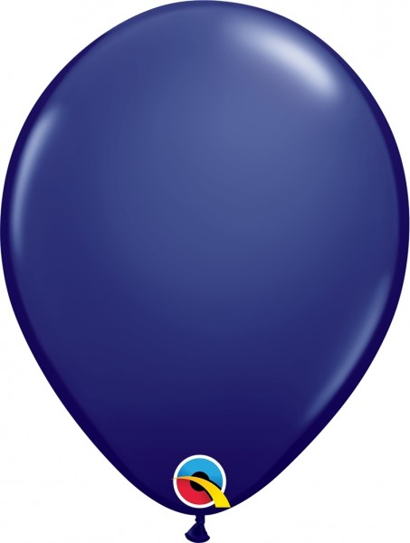 "Qualatex Latexballon Fashion Navy 28cm/11"" 100 Stück"