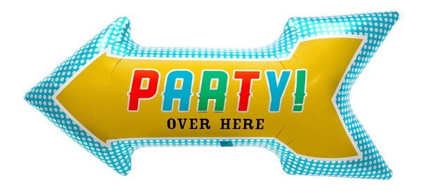 "Northstar Folienballon Party Arrow 36"""