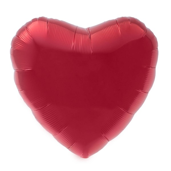 Northstar Folienballon Red Heart 9""