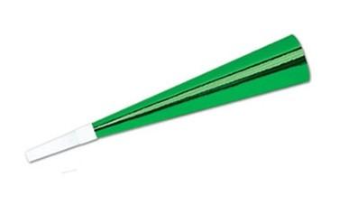Beistle Folienhorn Grün 23cm