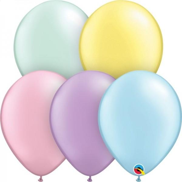 """Qualatex Latexballon Pastel Pearl Assortment 13cm/5"""" 100 Stück"""