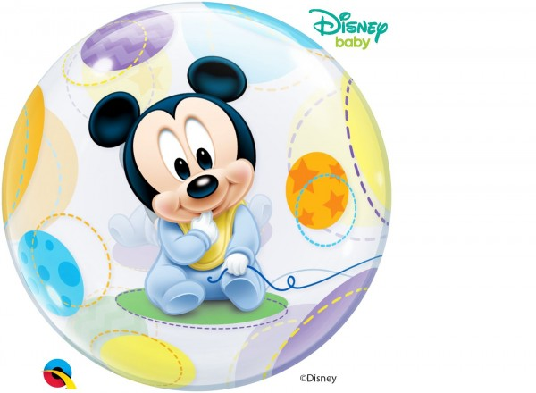 """Qualatex Bubbles Baby Mickey Mouse 56cm/22"""""""""""
