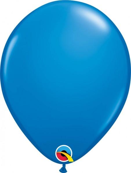 "Qualatex Latexballon Standard Dark Blue 28cm/11"" 100 Stück"