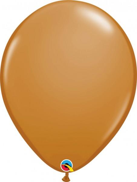 "Qualatex Latexballon Fashion Mocha Brown 40cm/16"" 50 Stück"