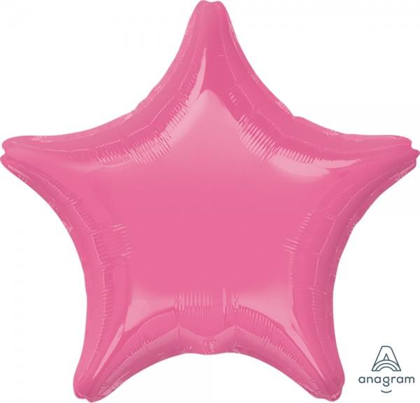 """Anagram Folienballon Stern Rose 50cm/20"""""""