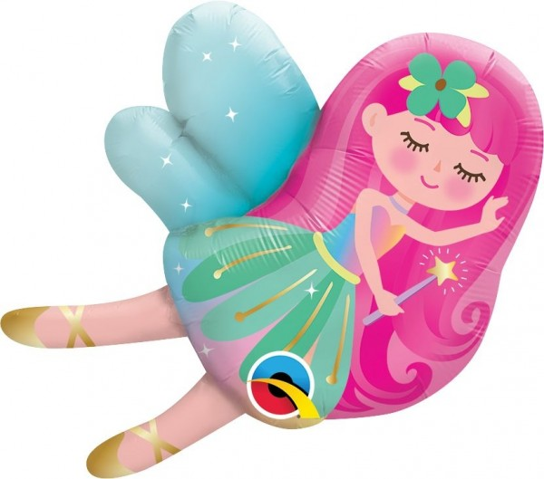 "Qualatex Folienballon Mini Fairy 36cm/14"""
