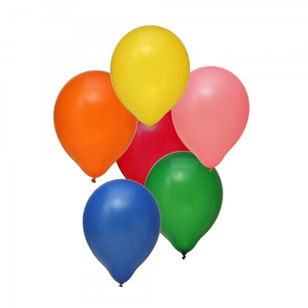 "Globos Luftballons Bunt/Hell ca. 15 Farben 30cm/12"" 100er Packung"