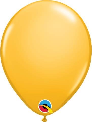 "Qualatex Latexballon Fashion Goldenrod 13cm/5"" 100 Stück"