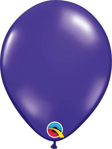 """Qualatex Latexballon Jewel Quartz Purple 13cm/5"""" 100 Stück"""