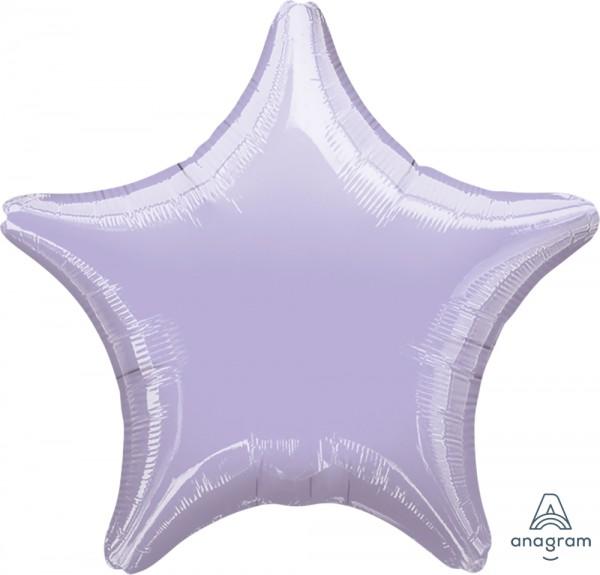 "Anagram Folienballon Stern Metallic pearl pastel lilac (Metallic pearl pastel lilac) 20"""