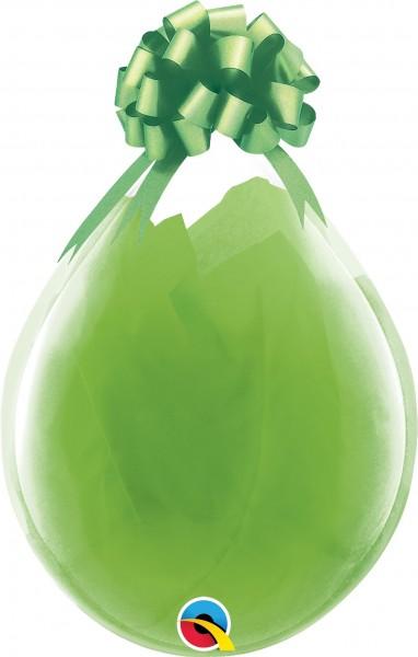 "Qualatex Verpackungsballon Diamond Clear 45cm/18"" 25 Stück"
