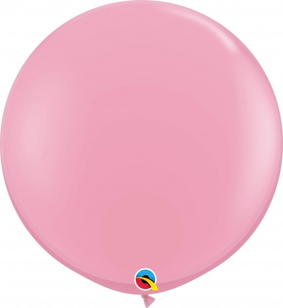 Qualatex Latexballon Standard Pink 90cm/3' 2 Stück