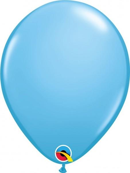 "Qualatex Latexballon Pale Blue 28cm/11"" 6 Stück"