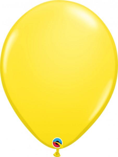 "Qualatex Latexballon Standard Yellow 40cm/16"" 50 Stück"
