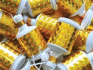 Celebration Crackers Mini-Party-Popper Gold 20 Stück