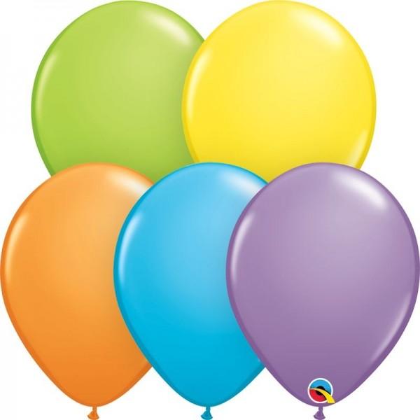 "Qualatex Latexballon Bright Pastell Assortment 28cm/11"" 100 Stück"